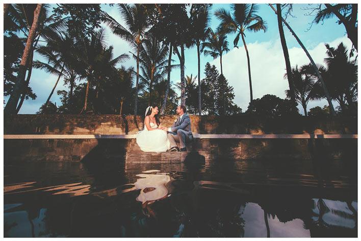 Analog film photographer Bali