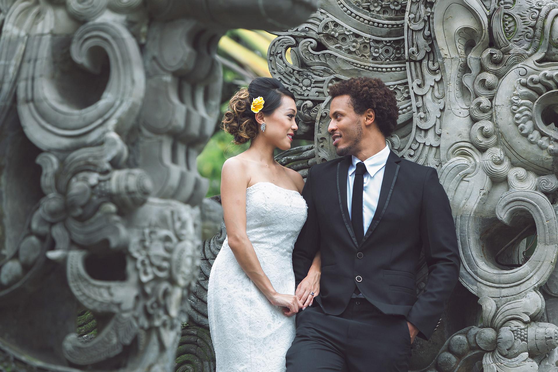 most popular Bali pre WEDDING photographer