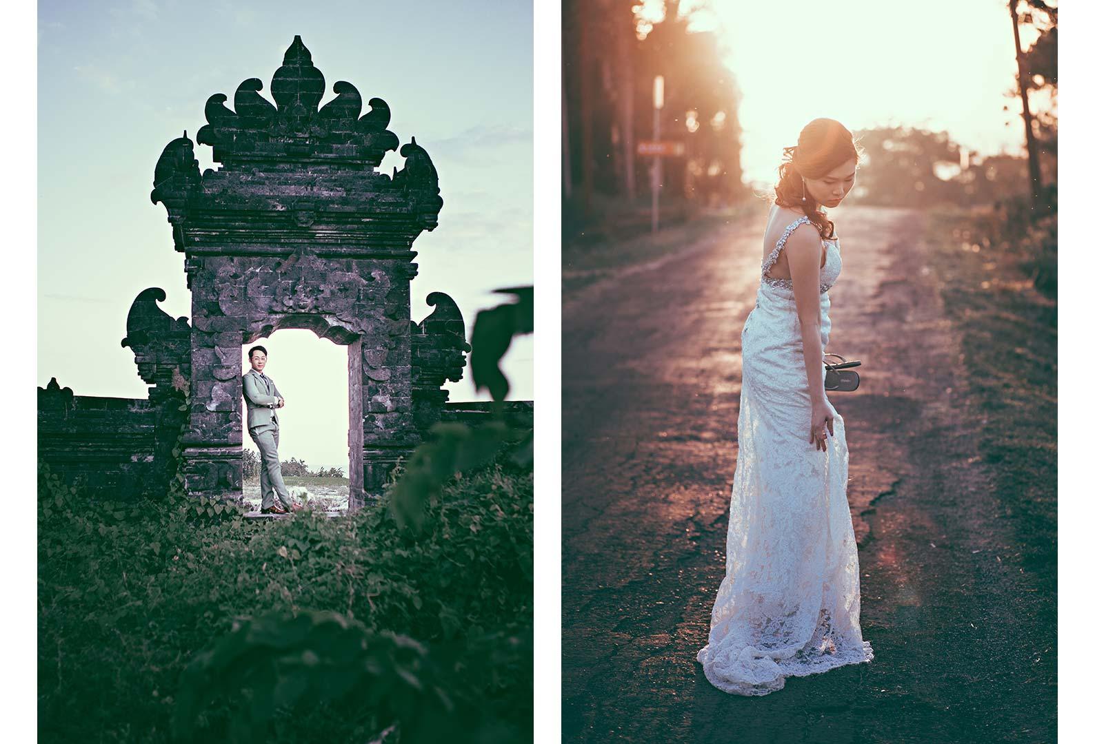 Bali female engagement photographer